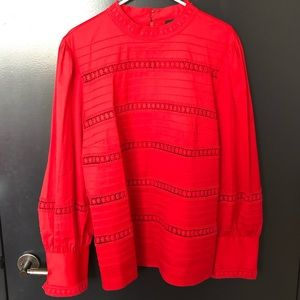 Halogen Red Blouse - Size XXL